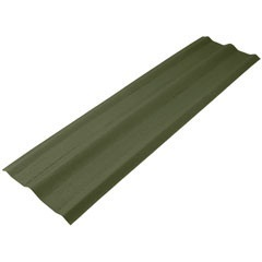 Cumeeira Universal Verde 2,00x0,52m