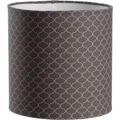 Cúpula Cilíndrica Colmeia Cinza 20cm - LS Ilumina