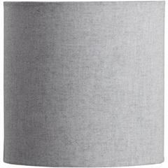 Cúpula Cilíndrica Lisa Cinza 20cm - LS Ilumina