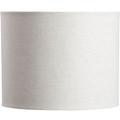 Cúpula Cilíndrico Lisa Bege 22cm - LS Ilumina