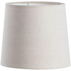 Cúpula Cônica Lisa Bege 17cm - LS Ilumina