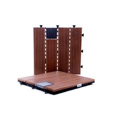 Deck com Luz Solar 30 X 30 Cm - Importado