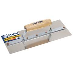 Desempenadeira de Aço Inox para Gesso 12 X 30 Cm - Castor