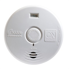 Detector de Fumaça para Corredor E Escada Branco - Kidde