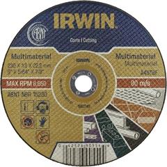 Disco de Corte Multimaterial 23x1,9x22,2cm  - Irwin