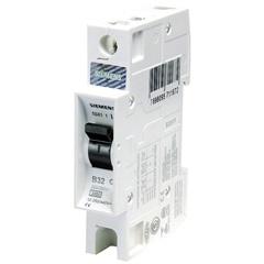 Disjuntor Din Curva B 16a Monopolar Ref. 5sx1 116-6 - Siemens
