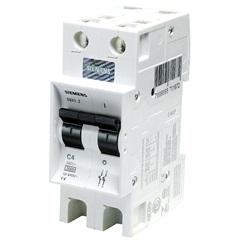 Disjuntor Din Curva B 25a Bipolar Ref. 5sx1 225-6 - Siemens