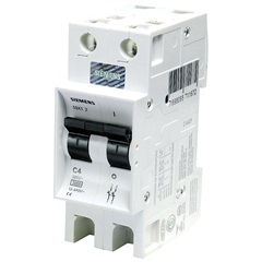 Disjuntor Din Curva C 40a Bipolar Ref. 5sx1 240-7 - Siemens