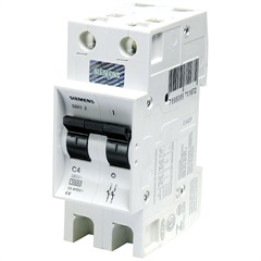 Disjuntor Din Curva C 50a Bipolar - Siemens