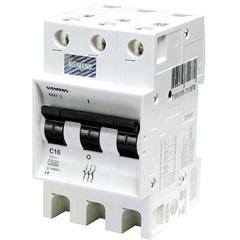 Disjuntor Din Curva C 50a Tripolar Ref. 5sx1 350-7 - Siemens