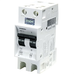 Disjuntor Din Curva C 63a Bipolar - Siemens