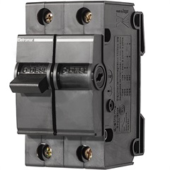 Disjuntor Dqe 2 Polos 25a 220 a 380v         - Eletromar