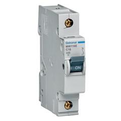 Disjuntor Eletromar 1p Curva C 16a            - Eletromar