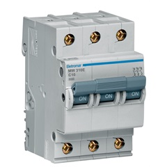 Disjuntor Eletromar 3p Curva C 10a 220/380 V - Eletromar