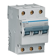 Disjuntor Eletromar 3p Curva C 20a 220/380v - Eletromar