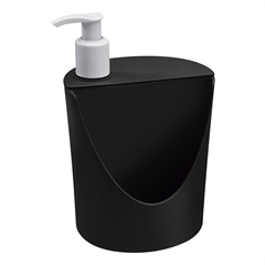 Dispenser  Romeu E Julieta Preto 600ml  - Coza