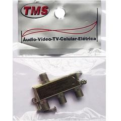 Divisor Coaxial F 3 Vias 70009 - TMS