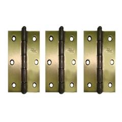 """Dobradiça 3.1/2"""" X 3  F Oxidado Linha Leve 1285- Ref: 20540-0210 - Pagé Ferragens"""