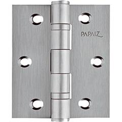 Dobradiça em Inox para Porta Inoxvita 88,9x76,2mm Cromo Acetinado - Papaiz