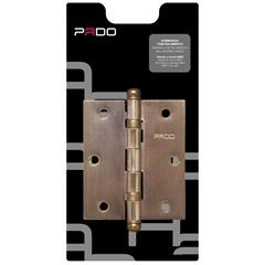 """Dobradiça para Porta 3x2.1/2"""" Bronze Oxidado - Pado"""