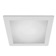 Embutido de Alumínio para Lâmpada Led Solution Branco 20w 6400k 127v - Bronzearte