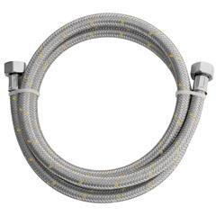 Engate Flexível de Aço Inox para Instalação de Gás 1,20 Metros  - Blukit