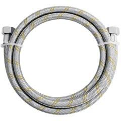 Engate Flexível de Aço Inox para Instalação de Gás - F X F - 2,00m Ref. 180408  - Blukit