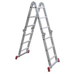 Escada Articulada em Alumínio com 12 Degraus - Botafogo