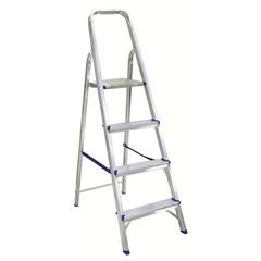 Escada de Alumínio com 04 Degraus Ref.1004 - Alustep