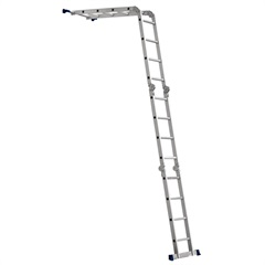 Escada Multifuncional 4 X 4 16 Degraus - Ref: 0.5132 - Mor