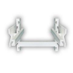 Espaçador para Bloco de Vidro 10mm com 10 Peças Branco