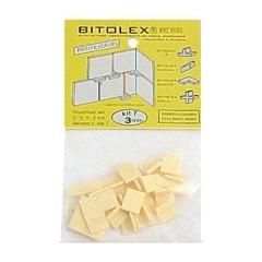 Espaçador Reutilizável Tê 3mm para Pisos, Azulejos E Pedras  - Completa Bitolex