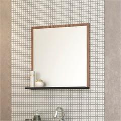 Espelheira Acácia Preto 60 Cm - Cozimax