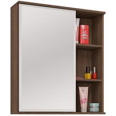 Espelheira em Mdf Treviso 60x60cm Castanha - MGM Móveis