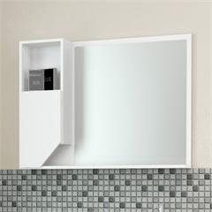 Espelheira Girassol Branco 80 Cm - Cozimax