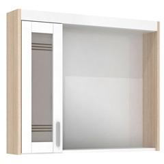 Espelheira Imola 60 Cm com Luminária Branco - Darabas