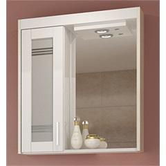 Espelheira Imola 60 Cm com Luminária Mezzo Blanco - Darabas