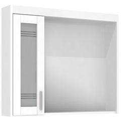 Espelheira Imola 80 Cm com Luminária Branco - Darabas