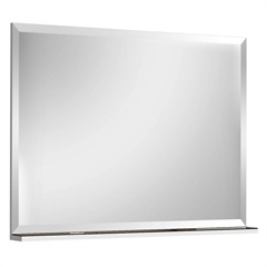 Espelheira Yes Mdf Branco 50x80cm             - Bumi