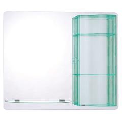 Espelho com Armário do Lado Esquerdo Rubi 74x59 Cm - Astra