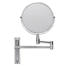 Espelho de Aumento de Parede Dupla Face Cromado - Importado