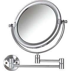 Espelho de Aumento de Parede Dupla-Face Móbile Ref. 10431 - Crysbell