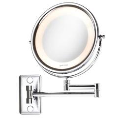 Espelho de Parede com Aumento E Braço Sanfonado Ref.: 10455 - Crysbell