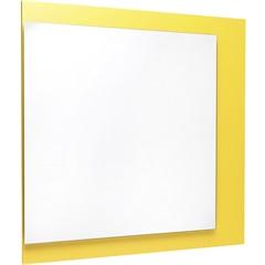 Espelho Monza 60 X 60 Cm Amarelo - Casanova