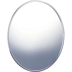 Espelho Oval Liso 48,5x57,5cm Ref. 501 - Cris Metal