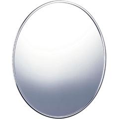 Espelho para Banheiro Oval Cristal 48,5x57,5cm Cromado - Cris Metal