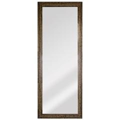 Espelho Retangular Moldura de Madeira Natural com Betume Cartagena 151x56cm - Espelhos Leão