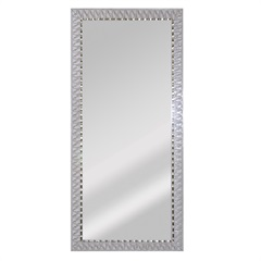 Espelho Safira 90 Branco - Espelhos Leão