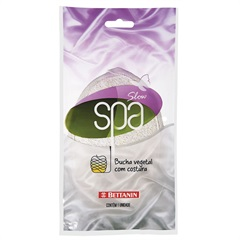Esponja Vegetal com Costura Slow Spa - Bettanin