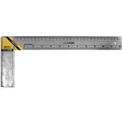 Esquadro de Aço com Cabo em Aço Zamac 12'' 30cm - Momfort